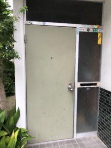 大府市 LIXILリシェント玄関ドア取付