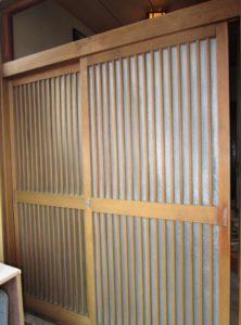 半田市 LIXIL玄関引き戸 取り付け(カバー工法) 2015/09/25