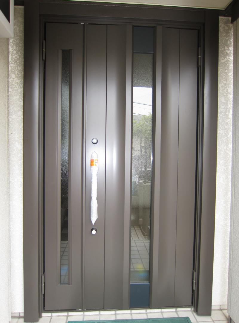 名古屋市緑区 LIXILリシェントⅡ玄関ドア 取り付け 2015/10/09