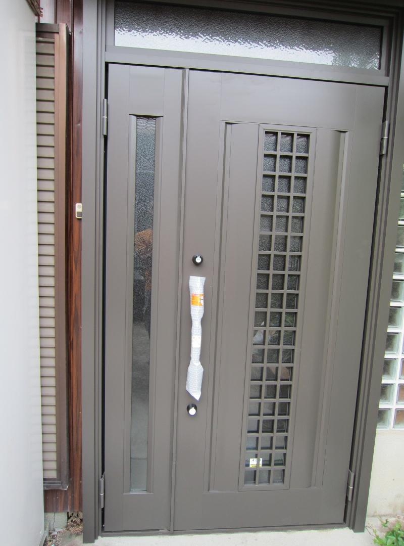 豊明市 LIXILリシェントⅡ玄関ドア 取り付け 2015/07/07