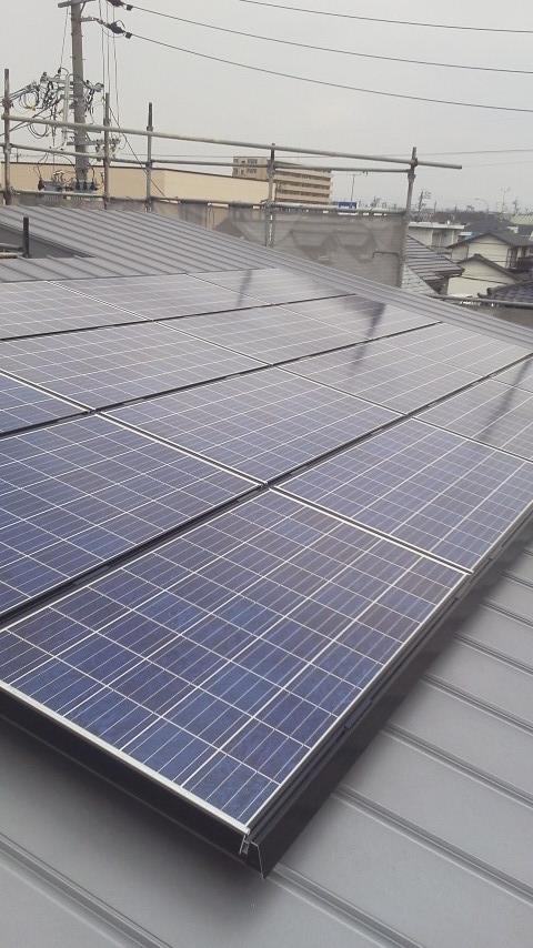 太陽光発電 取付工事