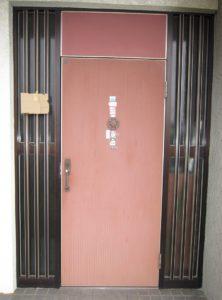 豊明市 LIIXLリシェントⅡ玄関ドア 取付 2016/01/06