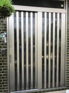 リシェント玄関引戸 取付工事 施工後