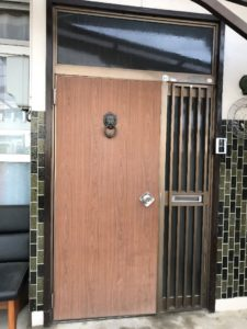 LIXIL リシェント玄関ドア 取付