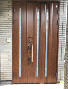 リシェント玄関ドア3 取付工事