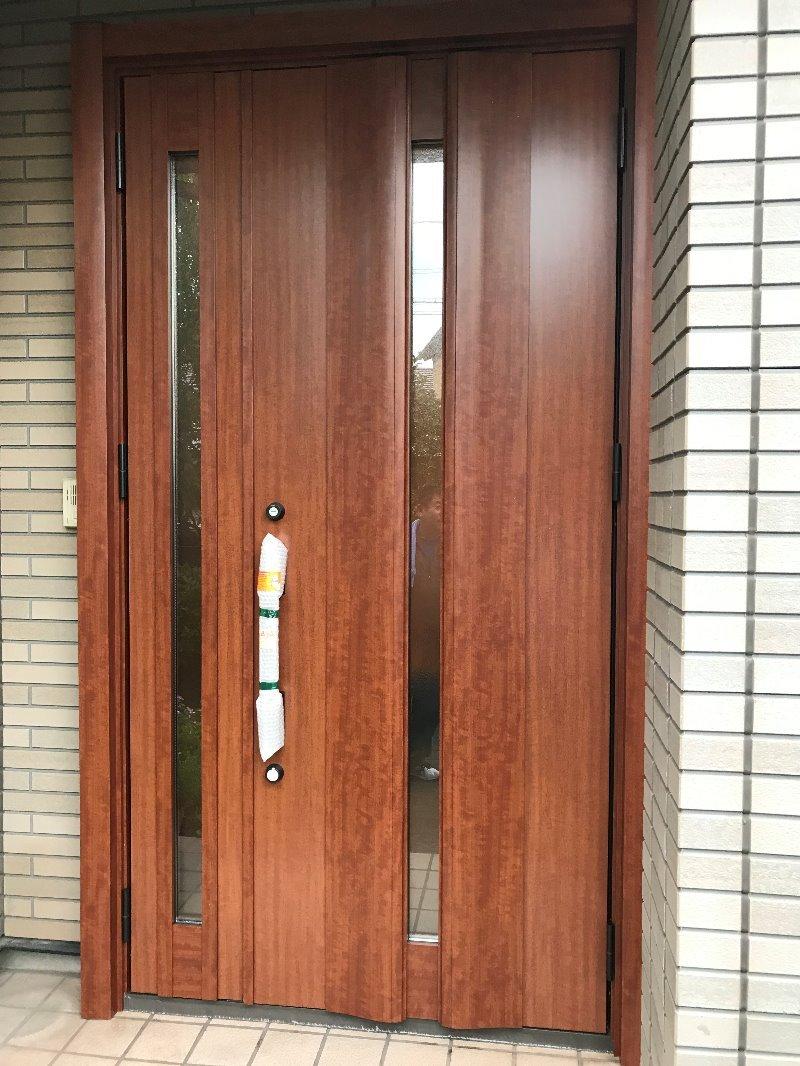 大府市ドアリフォーム リシェント玄関ドア3 取付工事