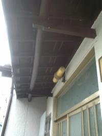 大府市 ホンダトーヨー 和風のテラス屋根、玄関にバッチリ 2010/07/03