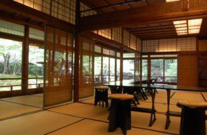 名古屋市 料亭店舗内の木製建具 ペアガラス工事 2013/11/30
