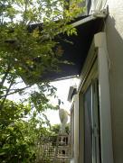大府市 ホンダトーヨー 日差しを遮るEco商品 オーニング「彩鳥」取付 2009/5/18