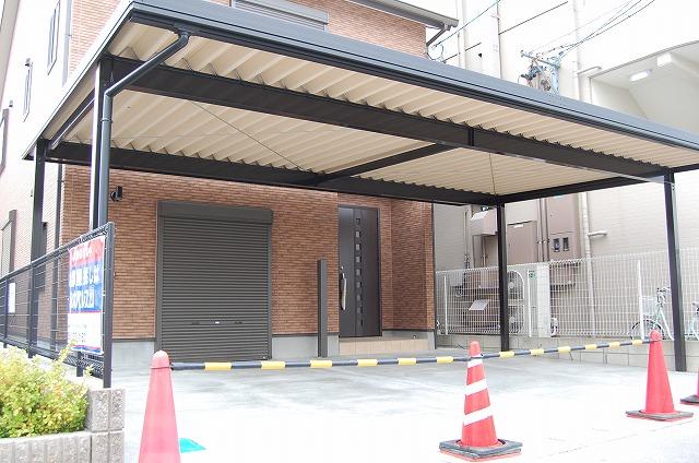 大府市 ホンダトーヨー 外構工事完了! 2010/04/01