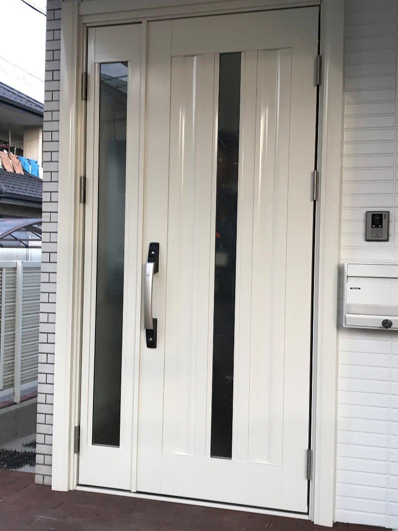 愛知県大府市 玄関ドア取替 YKK ドアリモ ドアリフォーム工事 2020/01/23