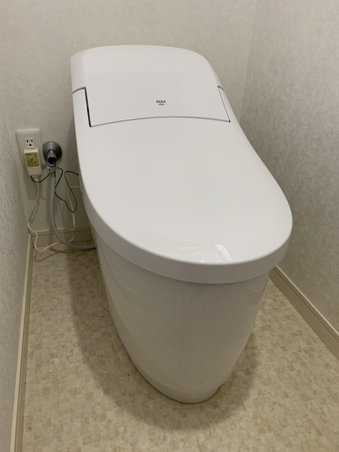 豊明市 LIXILリトイレ プレアスLS トイレ改修工事 2019/12/31
