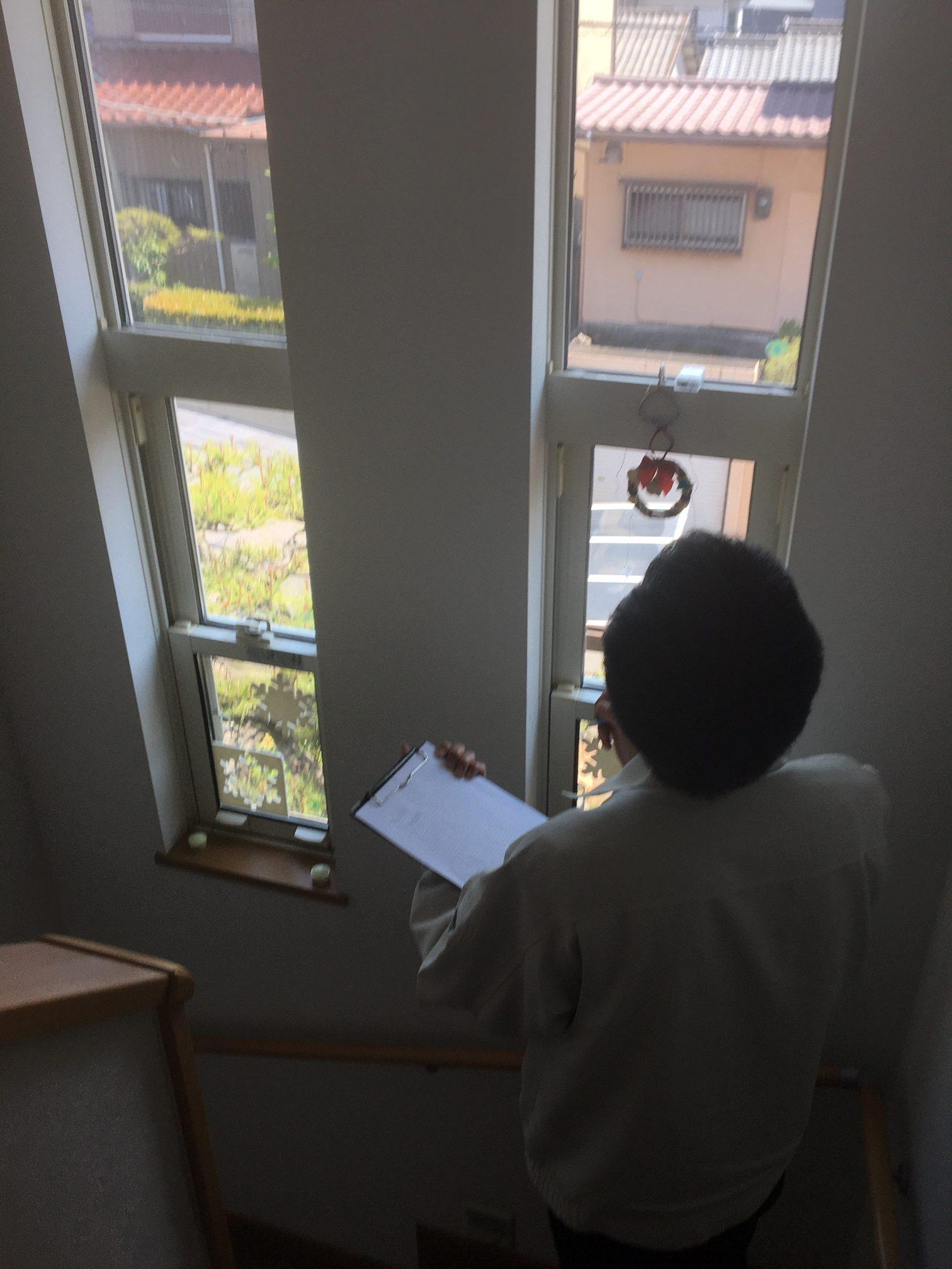 愛知県大府市 防犯対策 防犯ガラスへ 事前調査【ホンダトーヨー住器株式会社】